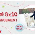 Walgreens FREE 8X10 photo enlargement!