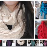 Infinity Scarves starting at $4.99!