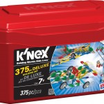 K'Nex 375 Piece Deluxe Building Set on sale for $10!