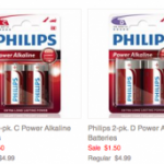 4 pack of batteries only $.96 shipped!