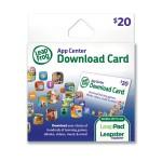 $20 LeapFrog App Center Digital Download Card on sale for $12.99!