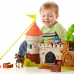 Fisher Price Mike the Knight Glendragon Playset only $16.98!