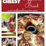 EASY Cheesy Pepperoni Bread!