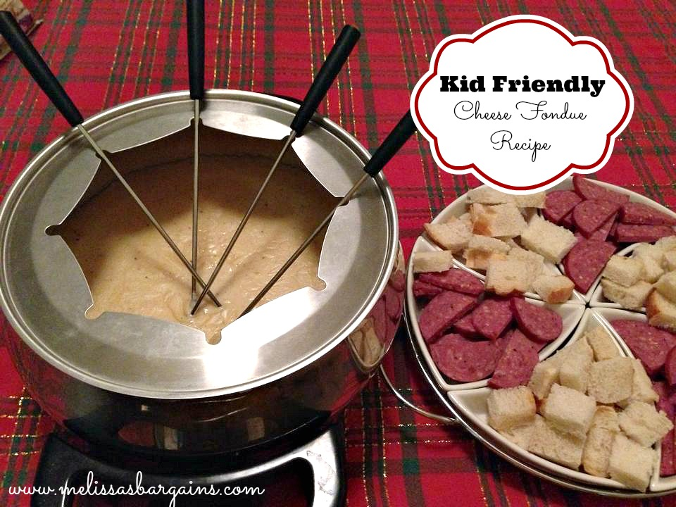 Kid Friendly Cheese Fondue Recipe