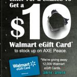 Win a $10 Walmart gift card!