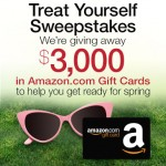 Amazon Treat Yourself $3K Gift Card Giveaway!