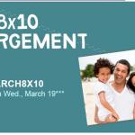 Free 8X10 Photo Enlargement!