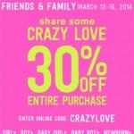 Crazy 8 Friends & Family Sale!