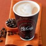 FREE McDonald's McCafe Coffee!
