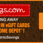 Home Depot Gift Card Giveaway!