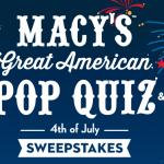 Macy's Instant Win Game!