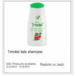FREE Timotei Kids Shampoo Product Testing opportunity!