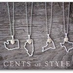 Custom State Pendant Necklaces only $11.95 shipped