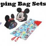 Disney Character Sleeping Bag Sets only $9.99!
