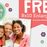 FREE 8X10 Photo Enlargement from Walgreens!