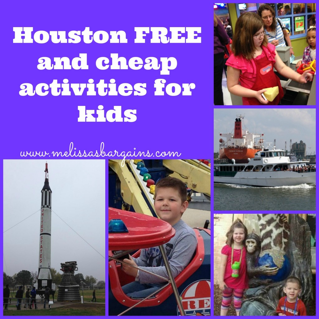 houston free and cheap activities for kids