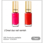 FREE L'Oreal Nail Polish Product Testing Opportunity!
