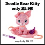 Fisher Price Doodle Bear Kitty only $5.99!