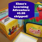 Elmo's Learning Adventure Set only $3.99 SHIPPED!