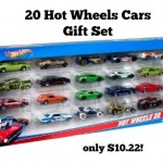 Hot Wheels 20 Car Gift Pack only $10!
