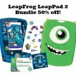 LeapFrog LeapPad 2 Bundle on sale for 50% off!