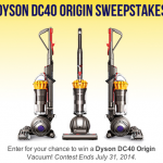 Win a Dyson DC40 Vacuum Cleaner!