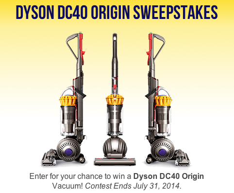 Win a dyson hoover