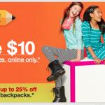 Target FREEBIES and School Supply Deals!