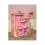 Fantasy Castle Wooden Dollhouse only $35.77 SHIPPED!