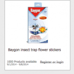 FREE Baygon insect trap stickers product testing opportunity!