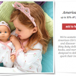 American Girl Bitty Baby Sale on Zulily!
