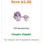 Littlest Pet Shop Pawsabilities Sets only $3.32 with coupon!