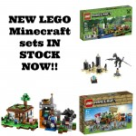 NEW LEGO Minecraft sets available!