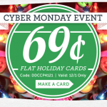 Cardstore.com Cyber Monday Event: photo cards for $.69 each!