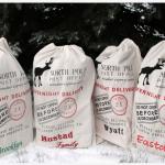 Personalized Santa Sacks for $19.95!