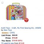 Alex Toys 50% off sale!