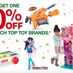 Target BOGO 50% off toy sale!
