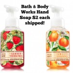 Bath & Body Works Hand Soaps just $2 each shipped!