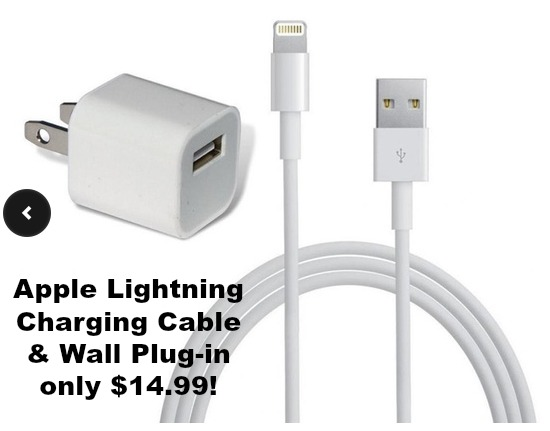 walgreens iphone charger apple brand lightning iphone charger and wall 13261