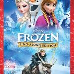 Frozen Sing Along DVD only $9.99!