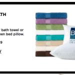 Kohl's Big Sale: Queen Pillow and Bath Towels only $2.99!