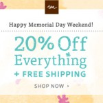 Tea Collection Memorial Day Sale plus 20% off coupon!