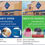 Sam's Club Membership Deal: almost $100 in FREEBIES!