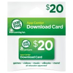 LeapFrog $20 App Center Download Card on sale for $13