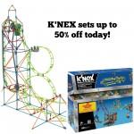 K'Nex Sets up to 50% off!