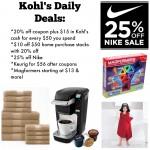 Kohl's Cyber Week Deals:  Keurig, Nike & more!