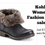Kohl's Women's Fashion Boots on Sale!