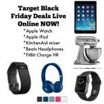 Target Black Friday Doorbusters online NOW!