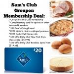 Sam's Club Groupon Membership Deal!