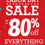 Gymboree Labor Day Sale: 20% coupon off plus free shipping!